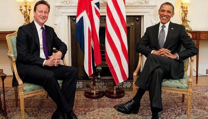 Obama Cameron ile görüştü