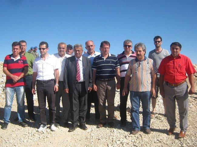 CHP'li vekiller Kel Dağı'na kurulan üsse alınmadı