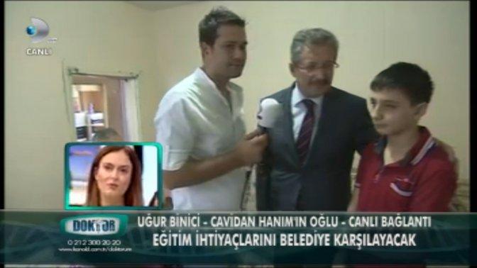 Başkan Poyraz 'Doktorum'a konuk oldu