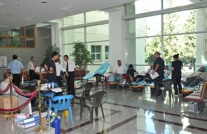 Kan bağışı kampanyası başladı