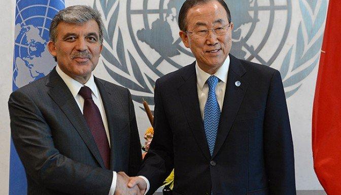 Cumurbaşkanı Gül BM Genel Sekreteri ile görüştü