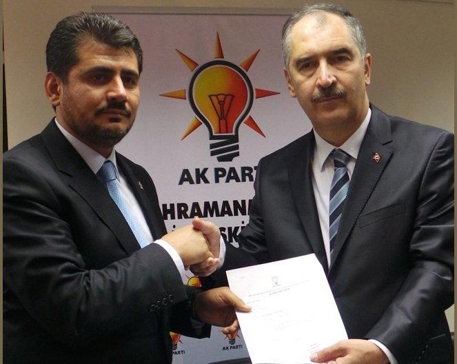 Ahmet Arıkan resmi başvurusunu yaptı