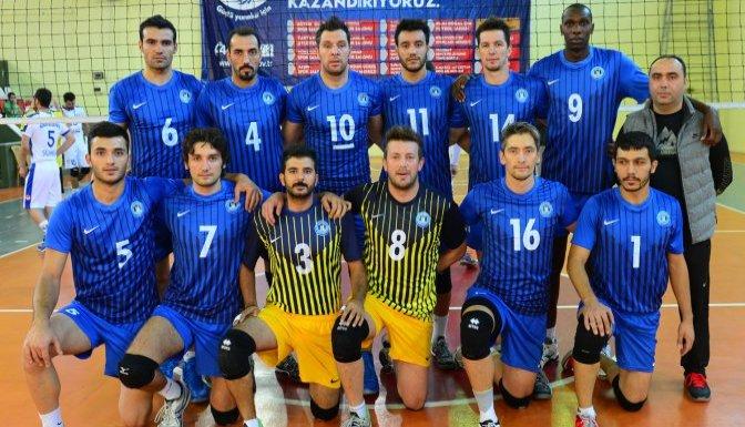 Belediyespor Voleybol Takımı  4'te 4 yaptı