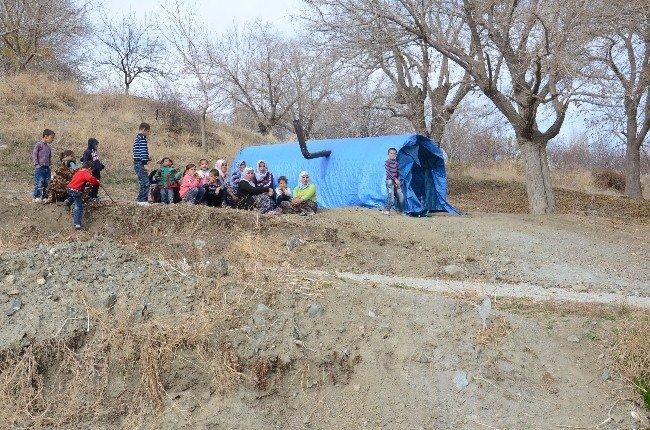 Köylülerin çadır eylemi 45. gününde