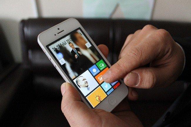 Devlet erkanı için mobil uygulama