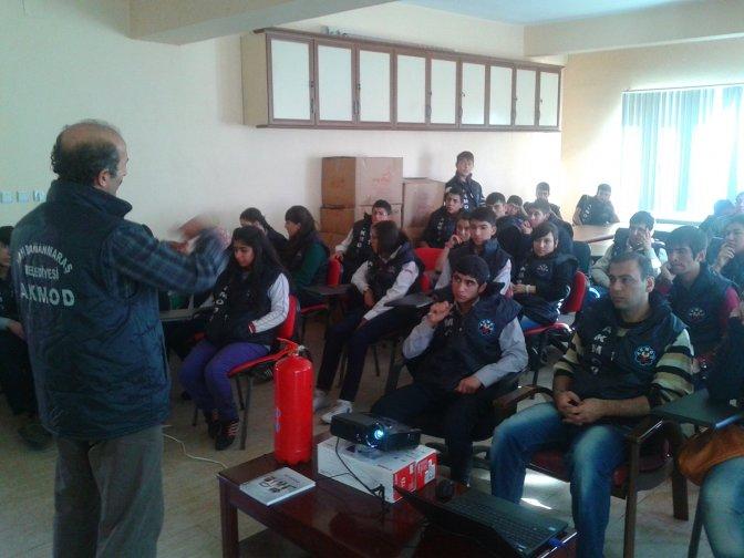 Belediye AKMOD ekibine 40 kişilik katılım