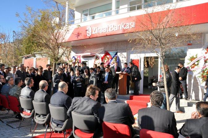 Nurhak'ta banka ve proje açılışları