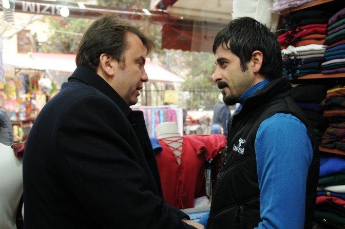 Erkoç, Kapalı Çarşı ziyaretine devam etti