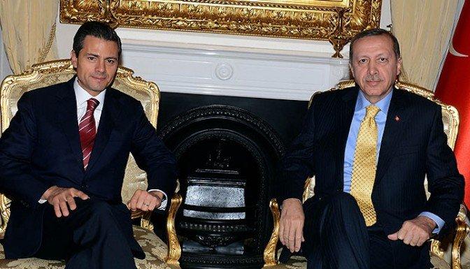 Erdoğan Meksika Cumhurbaşkanı ile görüştü