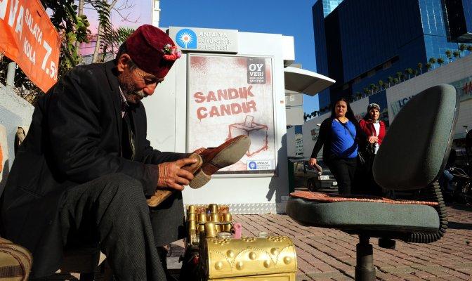 Antalya'da ilginç