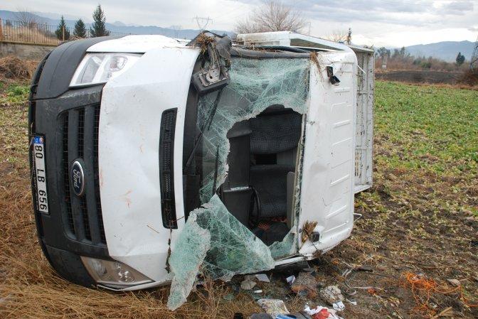Osmaniye'de trafik kazası: 3 yaralı