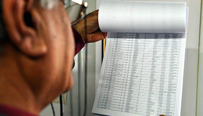 Seçmen listeleri 23 Ocak'ta askıdan indirilecek