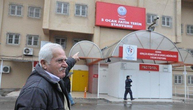 Tarihi stada  Fatih Terim'in adı verildi
