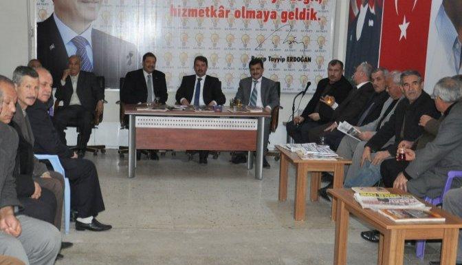Osman Okumuş'a ziyaretler devam ediyor