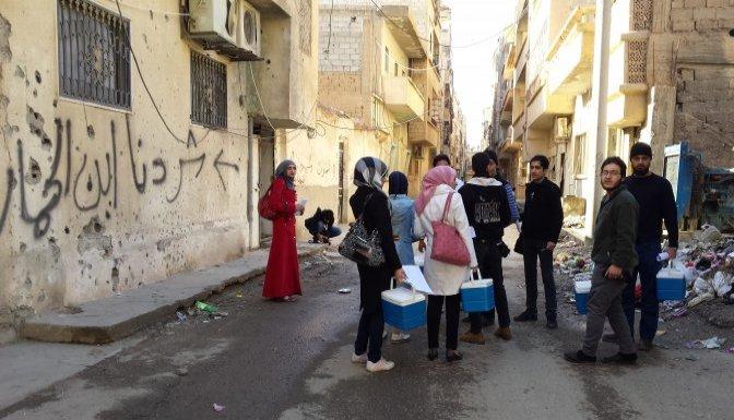 Suriye'de 1 milyon 398 bin çocuk daha aşılandı