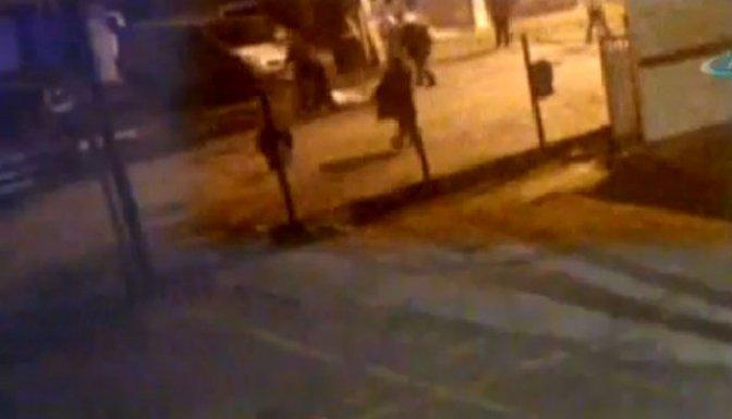 Trafik polisleri vatandaşı tekme tokat dövdü