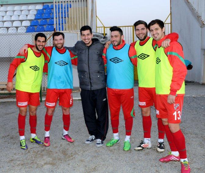 Karşıyaka maç hazırlıklarını tamamladı