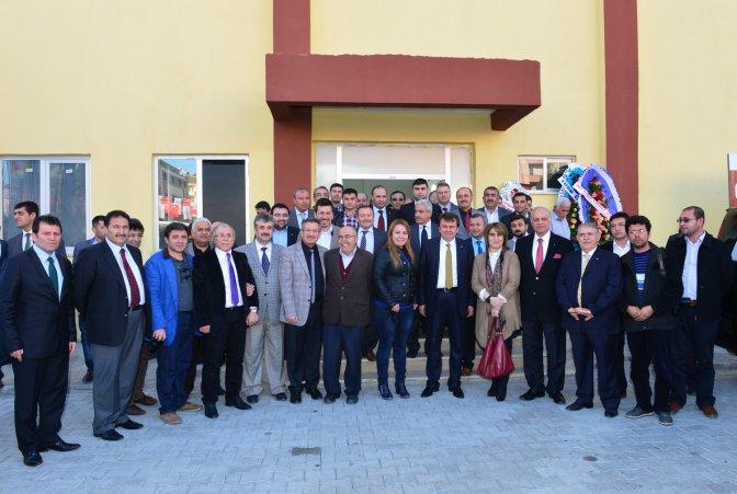 Osman Sayın Spor Salonu tanıtıldı