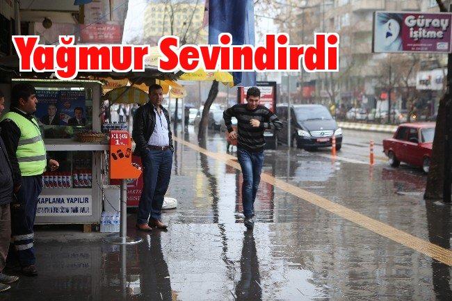 Kahramanmaraş'ta Yağmur Sevinci