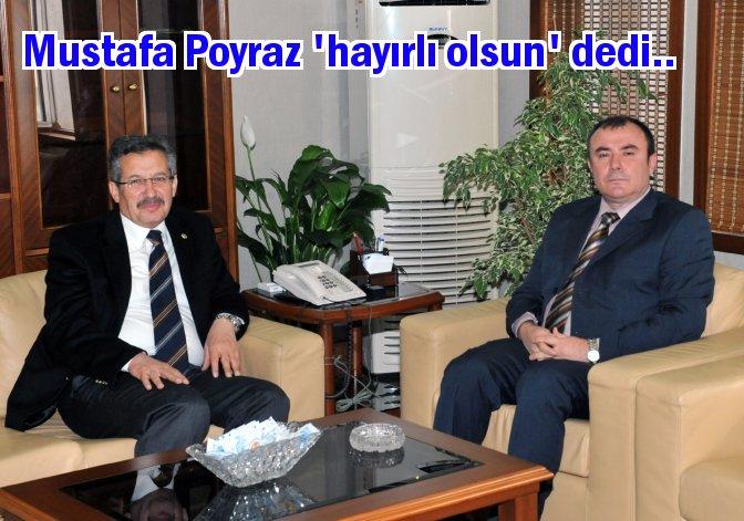 Poyraz'dan Emniyet Müdürü Adalar'a ziyaret