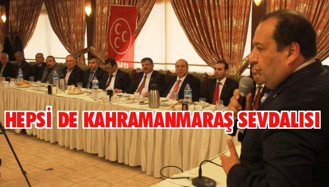 MHP Onikişubat Meclis Üyesi adaylarını tanıttı