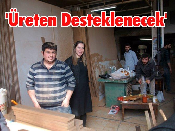 Sanayi Esnaflarından da Nergiz'e destek