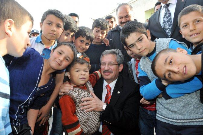 Genç Osman Şefkat Evleri tanıtıldı