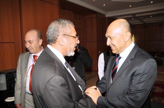 Ramazanoğlu Faslı Bakan Hakkaoui ile görüştü