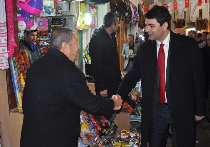 DP Genel Başkanı Uysal, Kahramanmaraş'ta