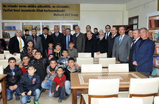 Şeyhadil Taziye Evi Ve Kütüphanesi tanıtıldı