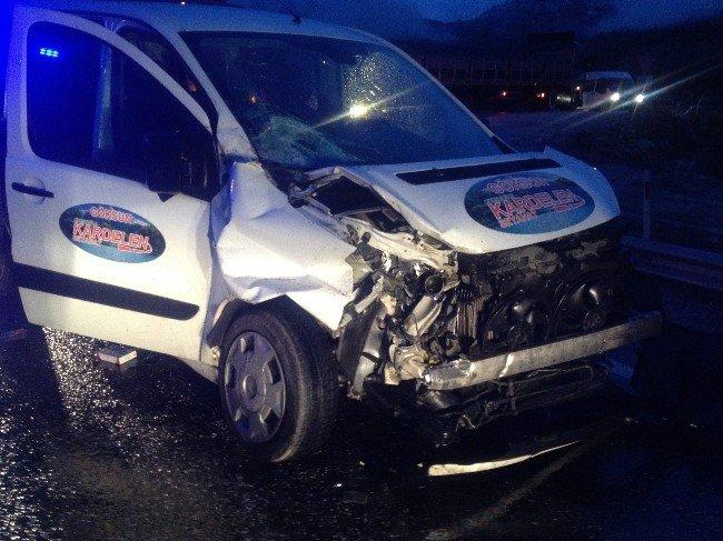 Göksun'da Trafik Kazası: 6 Yaralı
