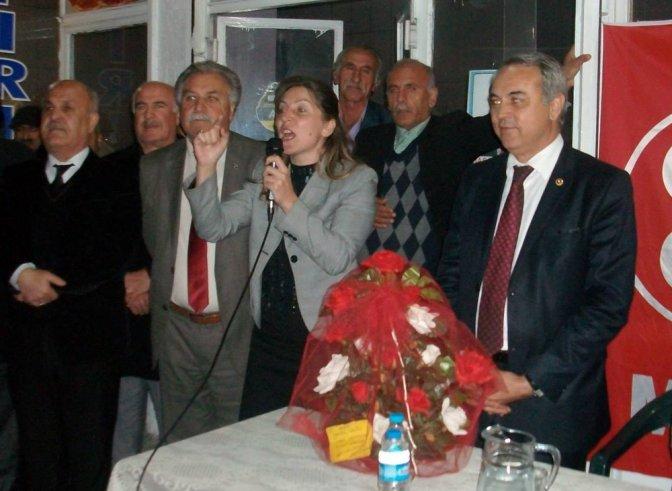 Namık Kemal Mahallesinde MHP Coşkusu