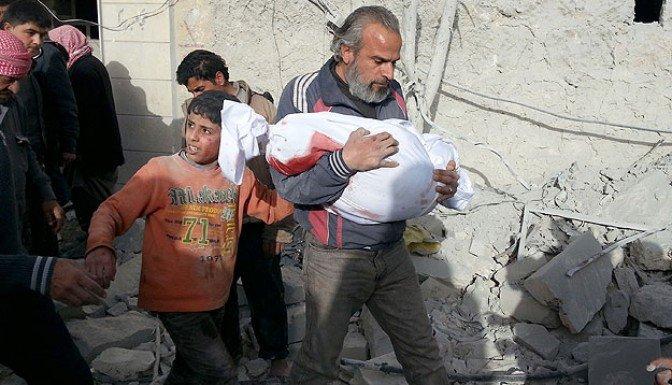 Suriye'de iç savaşın 4. yılına girildi