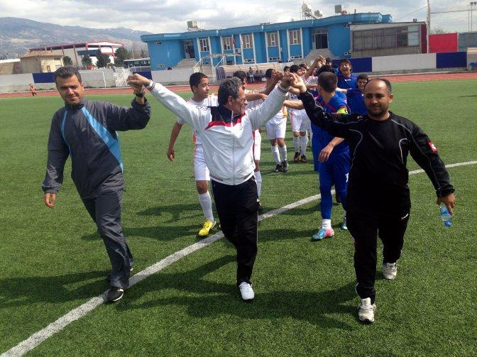 Türkiye U15 Şampiyonası'nda kavga