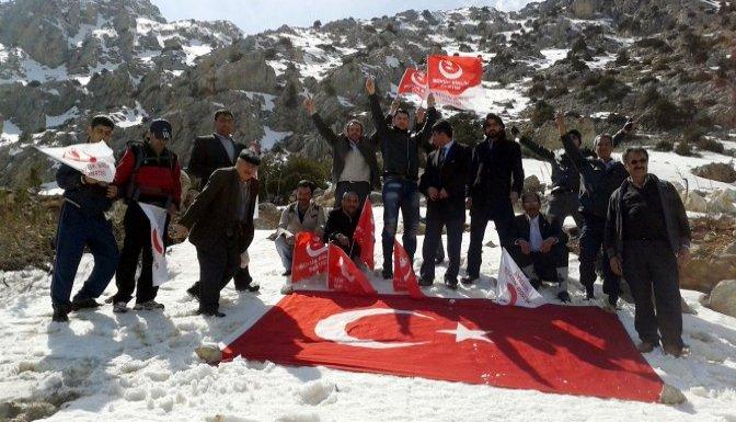Yazıcıoğlu,helikopterin düştüğü Keş Dağı'nda anıldı