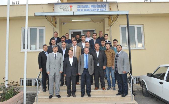 Poyraz'dan Dış Müdürlüklere Veda Ziyareti