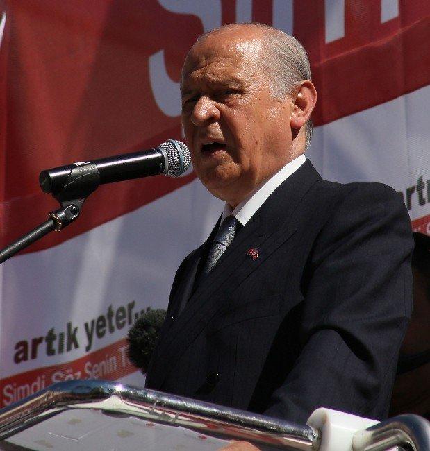 Bahçeli Kahramanmaraş'ta konuştu