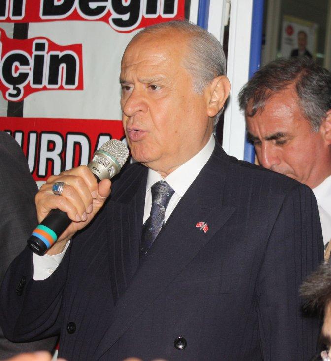 MHP Genel Başkanı Bahçeli Kahramanmaraş'ta