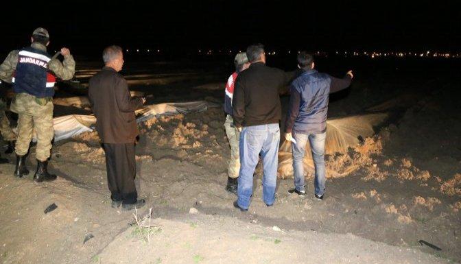 Suriye tarafından top mermisi düştü