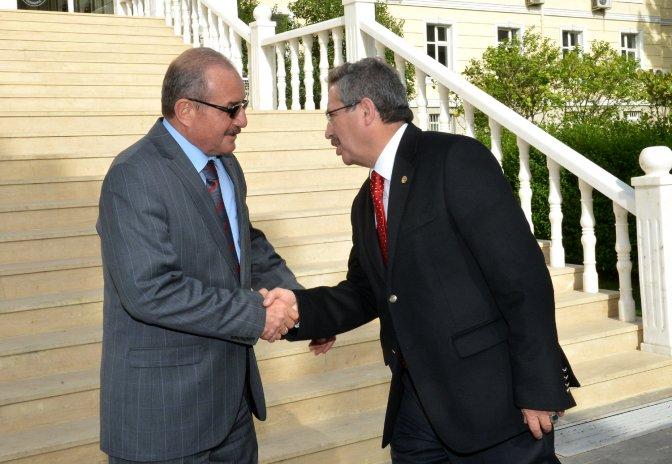 Başkan Poyraz'dan Vali Kocatepe'ye Veda Ziyareti