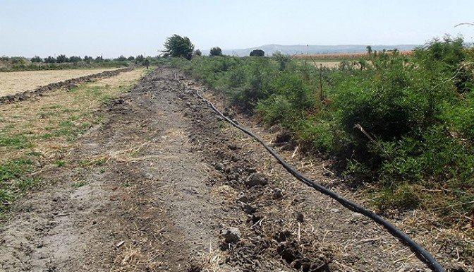 Sınırda kaçak boru hattı imha edildi
