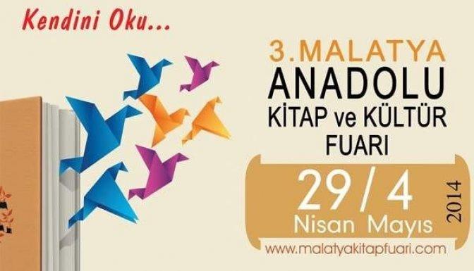 Anadolu Kitap Fuarı 29 Nisan'da Başlayacak