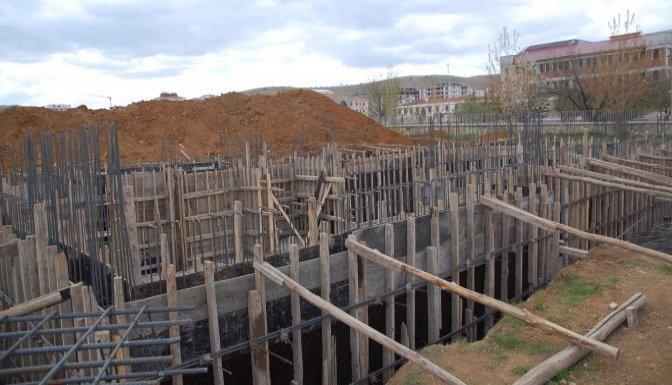 Afşin'de SGK binasının temeli atıldı