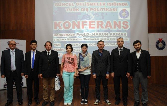 KSÜ'de Türk Dış Politikası Konuşuldu