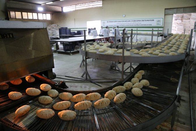 İHH'nın Suriyeye ekmek yardımı 60 milyona ulaştı