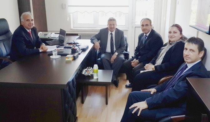 Poyraz'dan başkan yardımcılarına ziyaret