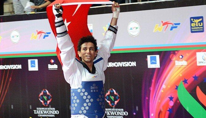 Servet Tazegül Avrupa şampiyonu