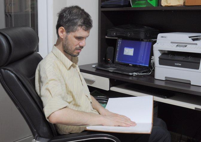 Görme engellilerden Online hatim ve dua