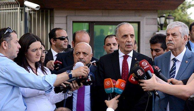 Erdoğan sendika başkanlarıyla görüştü