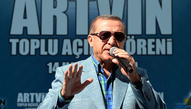 Erdoğan Rasmussen görüşmesi sona erdi